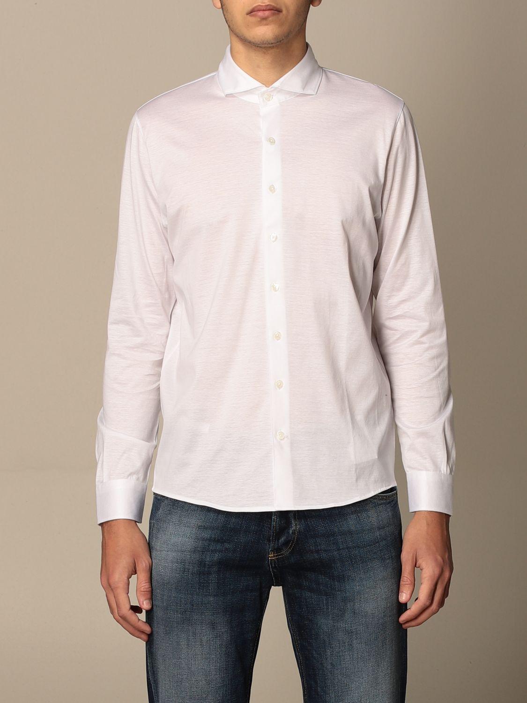 Shirt Barba Napoli: Barba Napoli basic shirt white 1