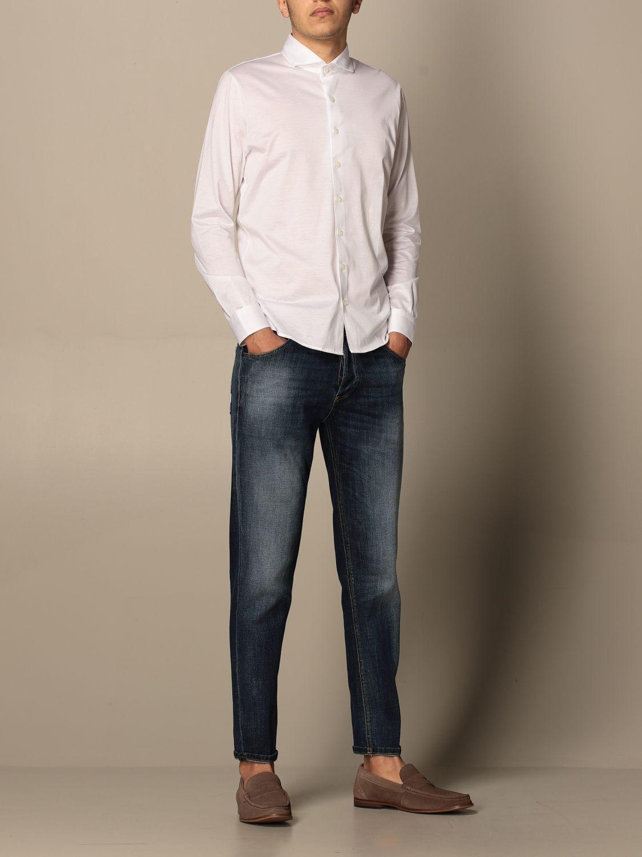Shirt Barba Napoli: Barba Napoli basic shirt white 2