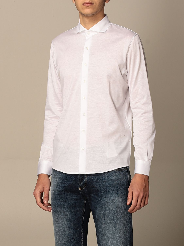 Shirt Barba Napoli: Barba Napoli basic shirt white 4
