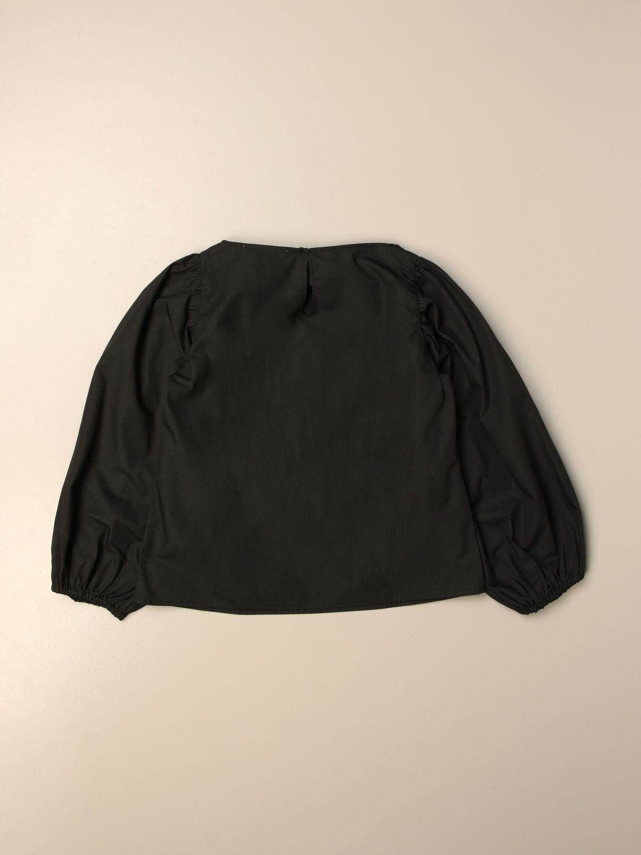 Top Douuod: Douuod basic crew neck shirt black 2