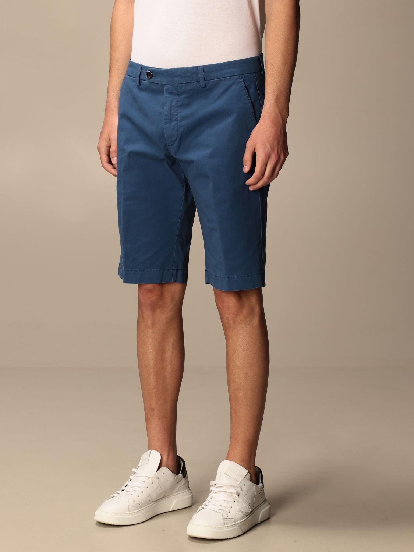 Pantalones cortos Gta Pantaloni: Pantalones cortos hombre Gta Pantaloni azul oscuro 3