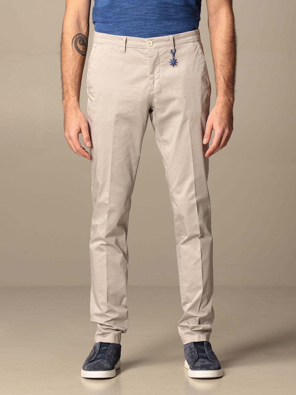 Trousers Manuel Ritz: Trousers men Manuel Ritz grey 1