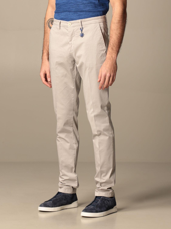 Trousers Manuel Ritz: Trousers men Manuel Ritz grey 3