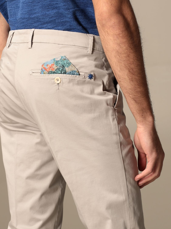 Trousers Manuel Ritz: Trousers men Manuel Ritz grey 4