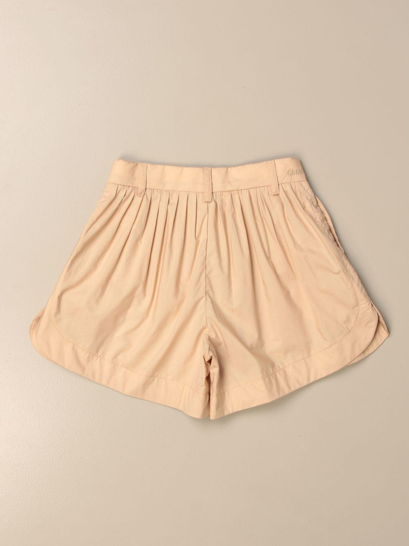 Pantalones cortos Chloé: Pantalones cortos niños ChloÉ beige 2