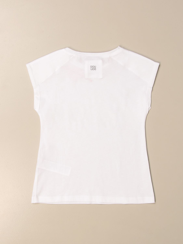 T-shirt Douuod: Douuod T-shirt with heart white 2