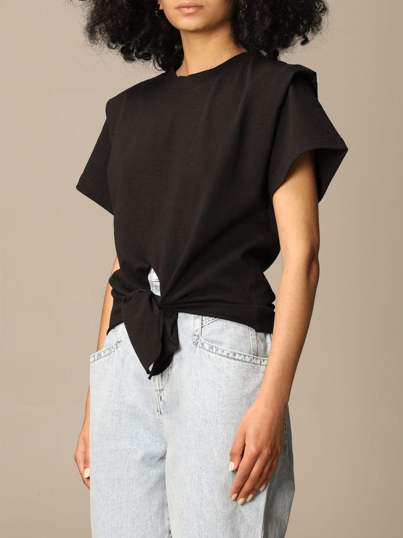 T-Shirt Isabel Marant: T-shirt damen Isabel Marant schwarz 4