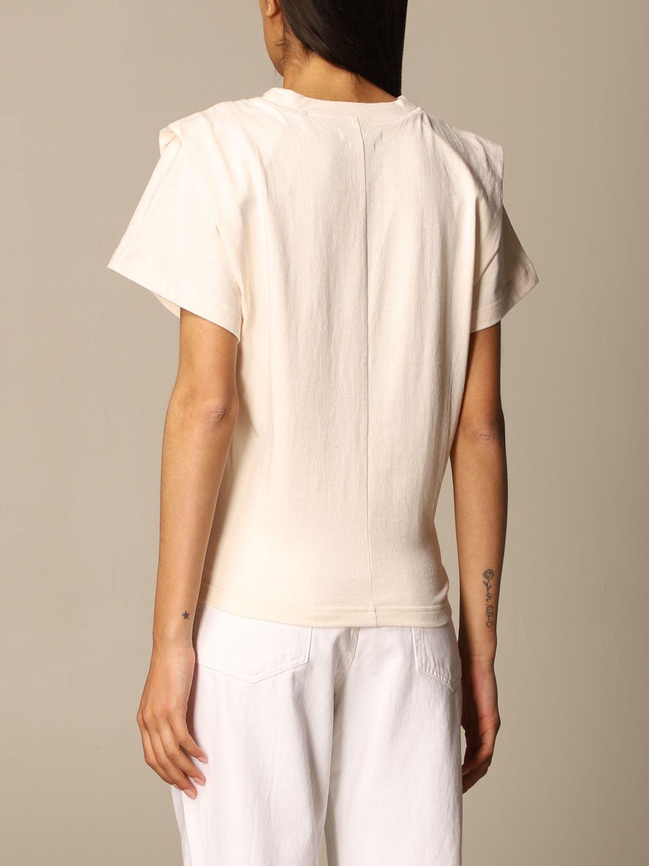 T-Shirt Isabel Marant: T-shirt damen Isabel Marant ecru 3