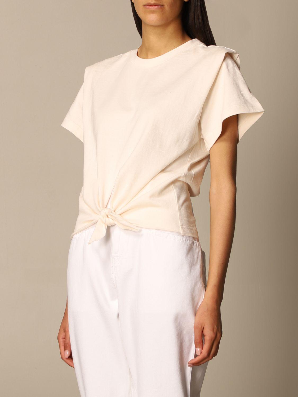 T-Shirt Isabel Marant: T-shirt damen Isabel Marant ecru 4