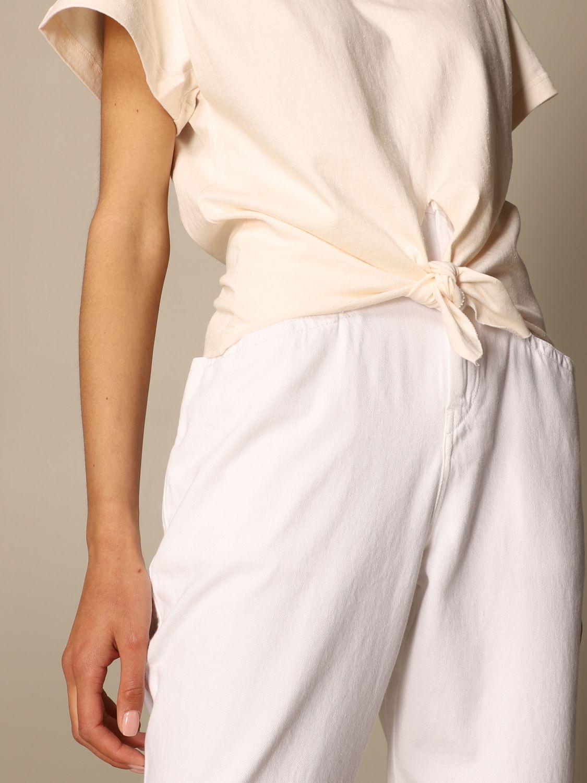 T-Shirt Isabel Marant: T-shirt damen Isabel Marant ecru 5
