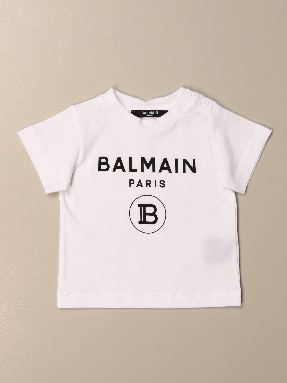 Tops Balmain: Tops niños Balmain blanco 1