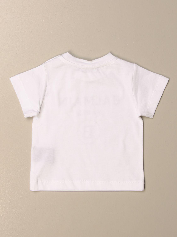Tops Balmain: Tops niños Balmain blanco 2