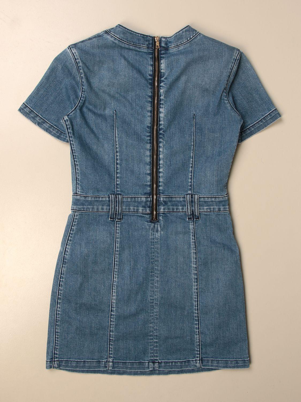 Vestido Balmain: Vestido niños Balmain azul oscuro 2