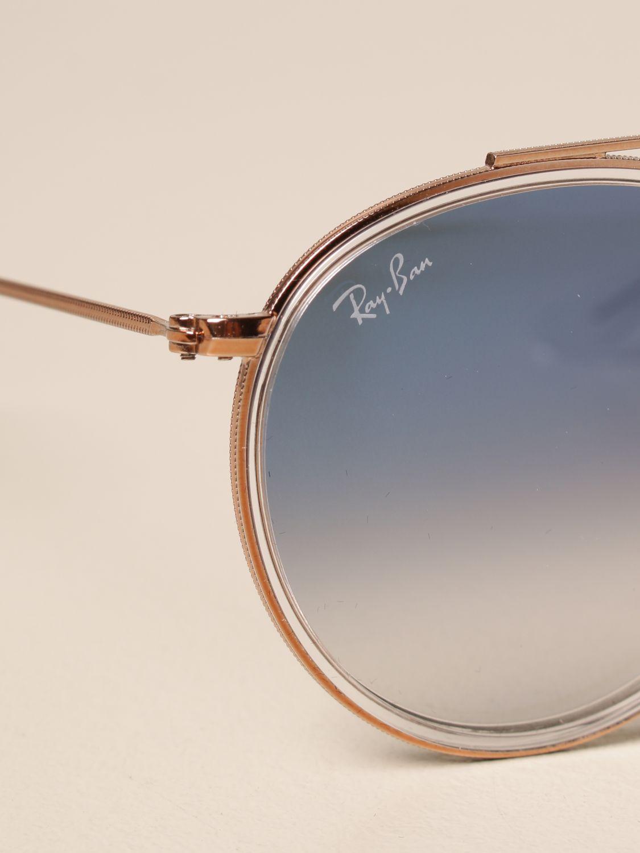 Солнцезащитные очки Ray-Ban: Солнцезащитные очки Мужское Ray-ban голубой 4