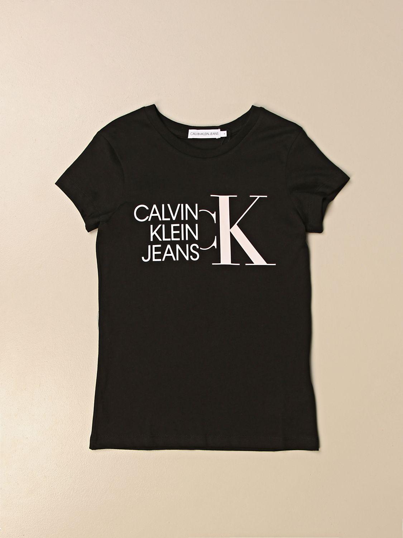 Camisetas Calvin Klein: Camisetas niños Calvin Klein negro 1