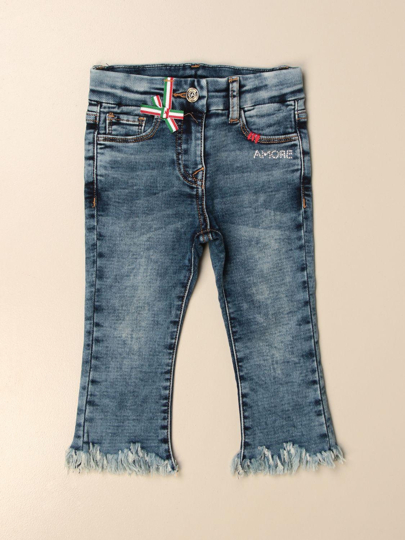 牛仔裤 Monnalisa: 牛仔裤 儿童 Monnalisa 蓝色 1