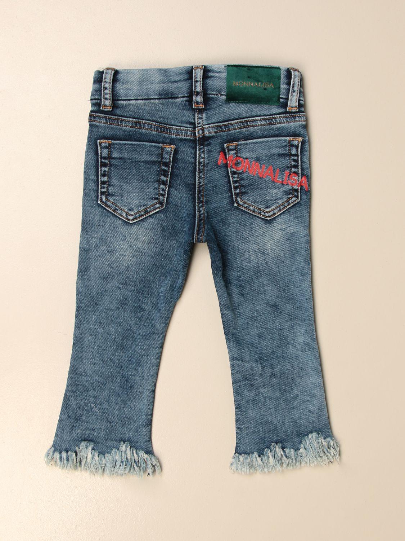 牛仔裤 Monnalisa: 牛仔裤 儿童 Monnalisa 蓝色 2