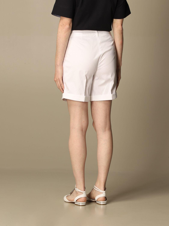 Pantalones cortos Fay: Pantalones cortos mujer Fay blanco 3