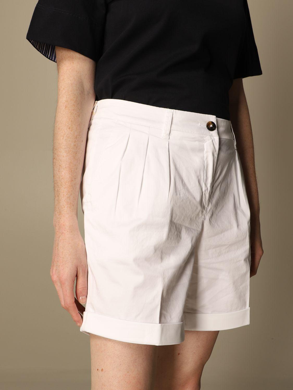 Pantalones cortos Fay: Pantalones cortos mujer Fay blanco 5