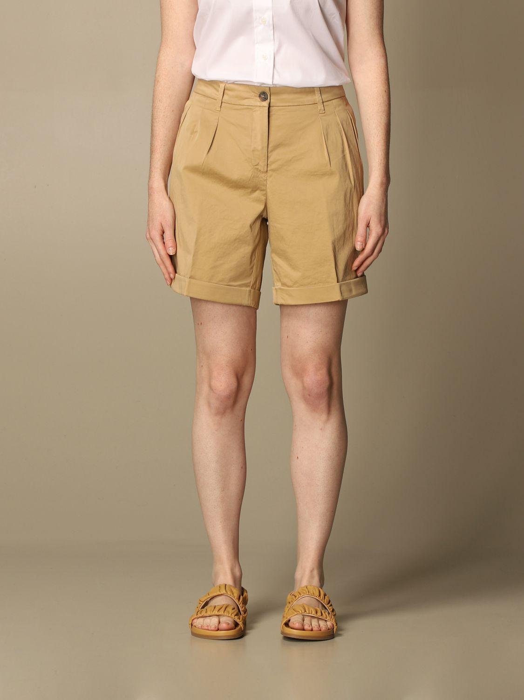 Pantalones cortos Fay: Pantalones cortos mujer Fay beige 1