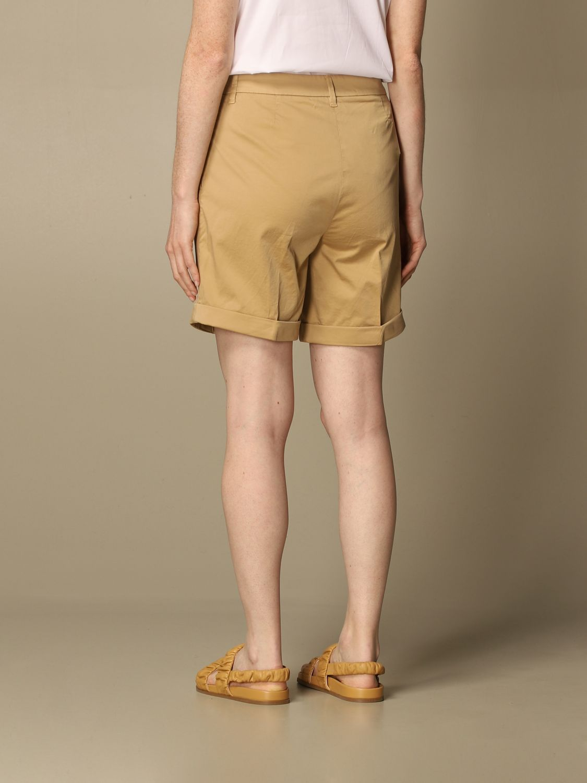 Pantalones cortos Fay: Pantalones cortos mujer Fay beige 3
