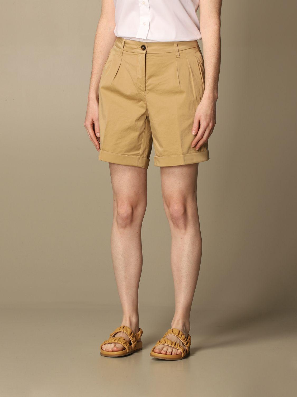 Pantalones cortos Fay: Pantalones cortos mujer Fay beige 4