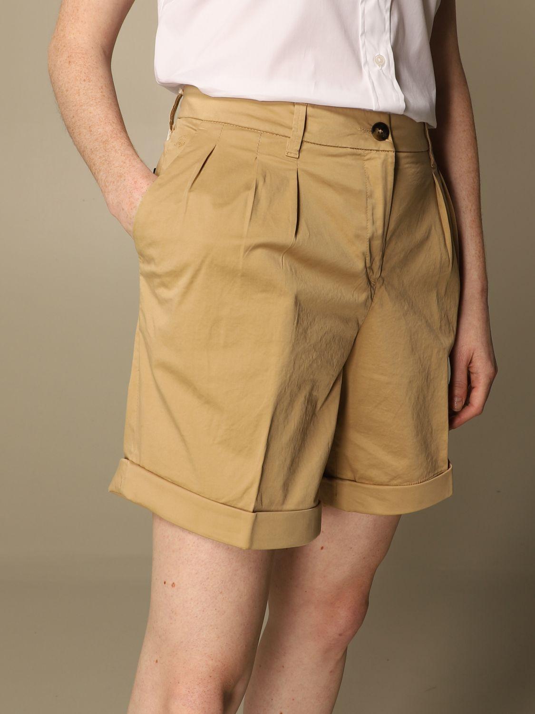 Pantalones cortos Fay: Pantalones cortos mujer Fay beige 5