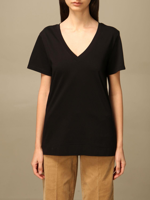 T-Shirt Semicouture: T-shirt damen Semicouture schwarz 1