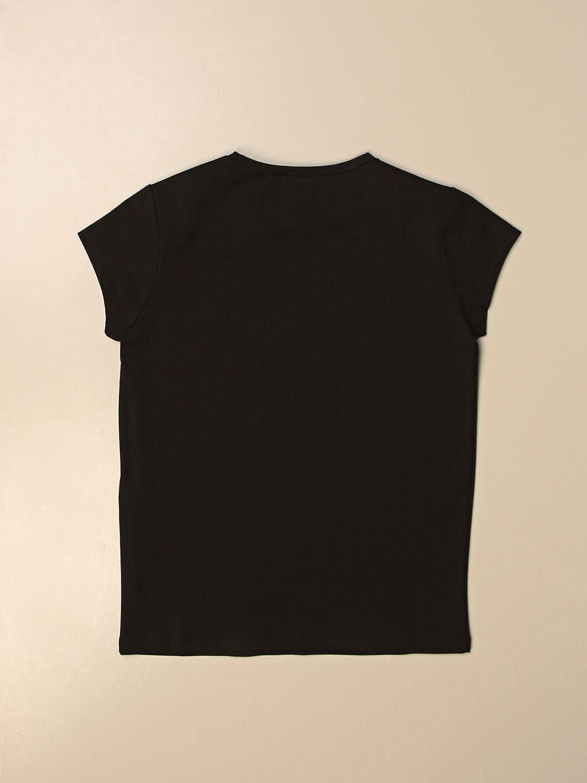Camisetas Liu Jo: Camisetas niños Liu Jo negro 2