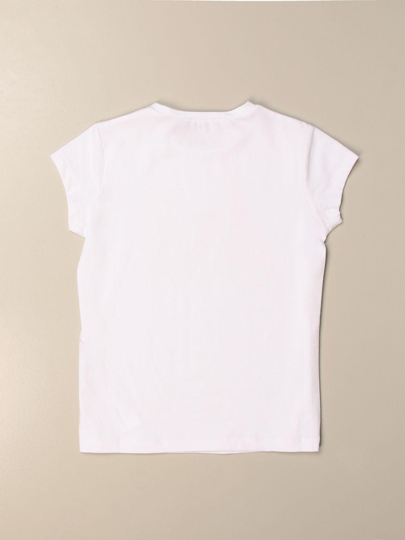 Camisetas Liu Jo: Camisetas niños Liu Jo blanco 1 2