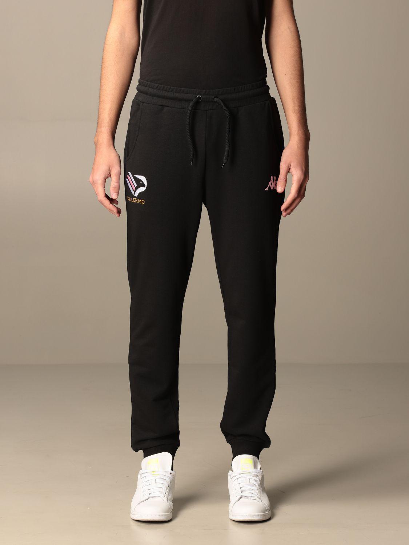 Pantalone Palermo: Pantalone kappa arwils nero 1