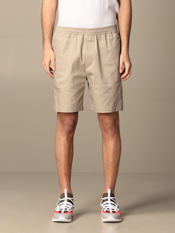 Pantaloncino Mauro Grifoni: Pantaloncino basic Mauro Grifoni sabbia 1