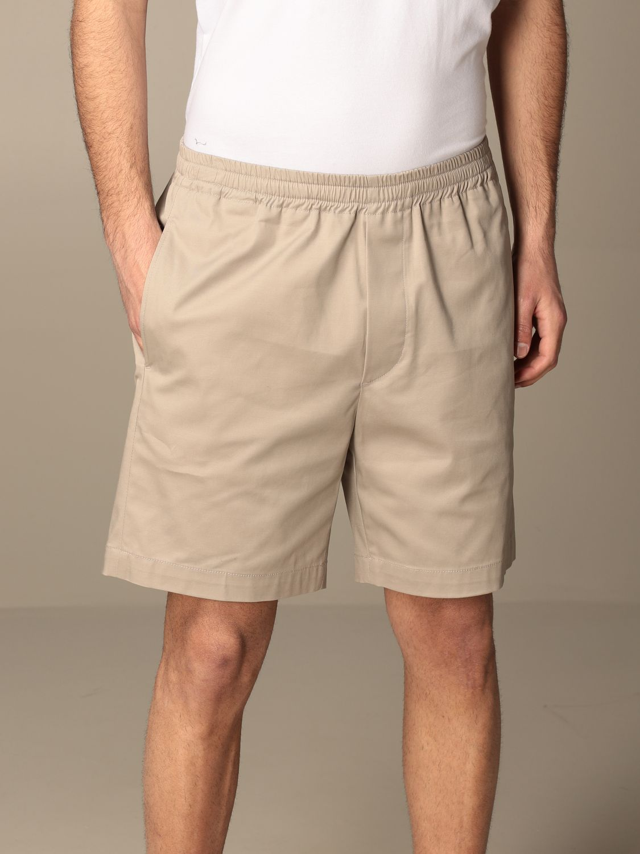 Pantaloncino Mauro Grifoni: Pantaloncino basic Mauro Grifoni sabbia 4