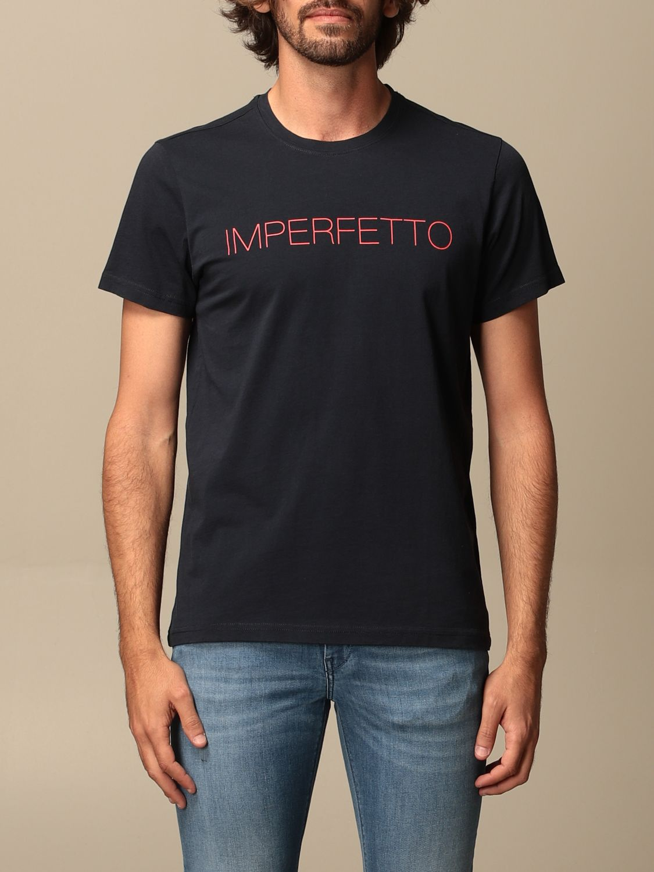 T-shirt Aspesi: T-shirt homme Aspesi bleu 1
