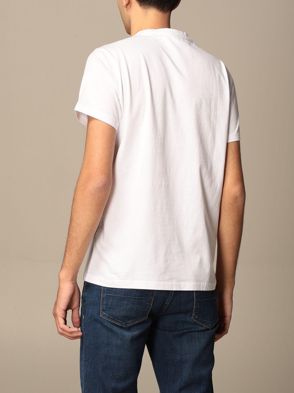 T-shirt Aspesi: Aspesi cotton T-shirt with silence print white 2