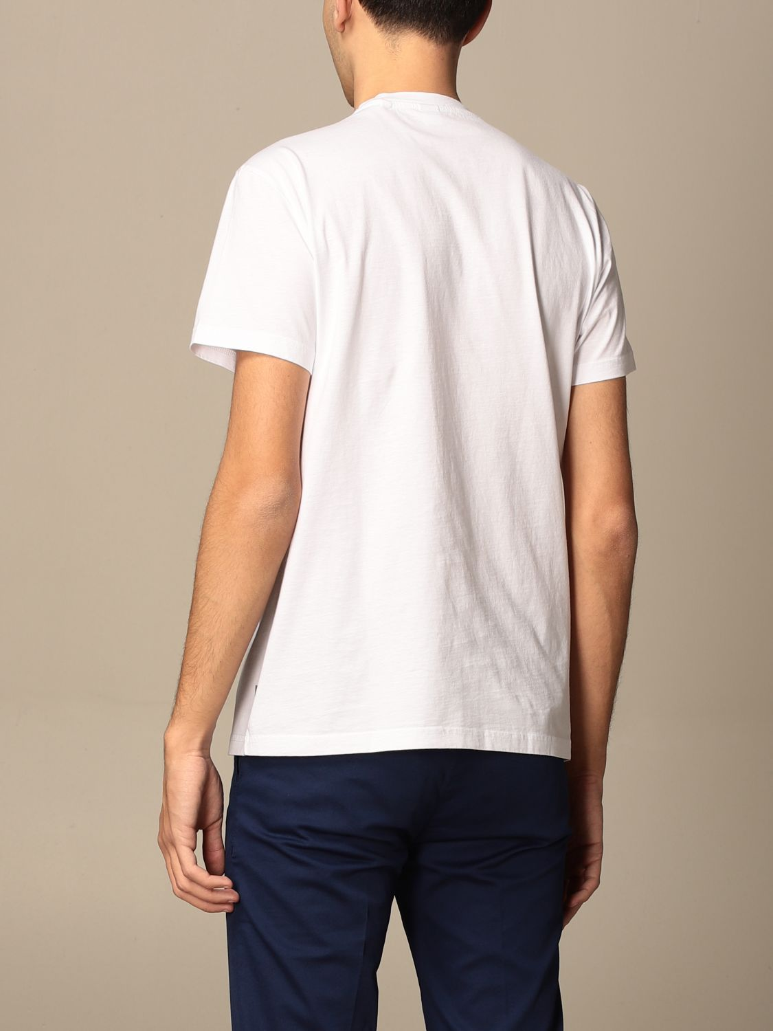 T-shirt Aspesi: T-shirt men Aspesi white 2