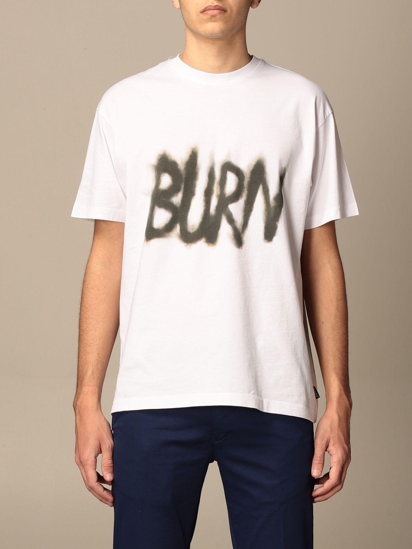 T-shirt Aspesi: T-shirt homme Aspesi blanc 1