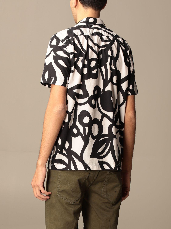 Shirt Aspesi: Aspesi printed cotton shirt blue 2