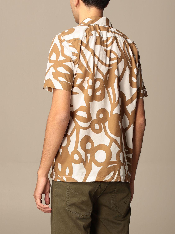 Camicia Aspesi: Camicia Aspesi in cotone stampata beige 2