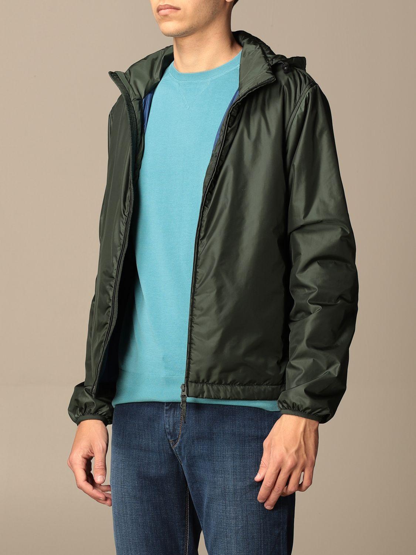 Jacket Aspesi: Aspesi nylon jacket with hood and zip green 3