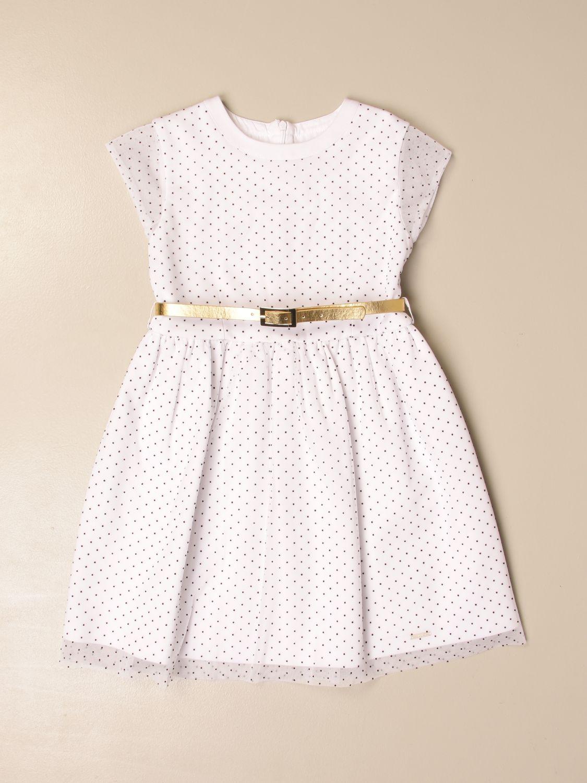 Dress Liu Jo: Dress kids Liu Jo white 1 1