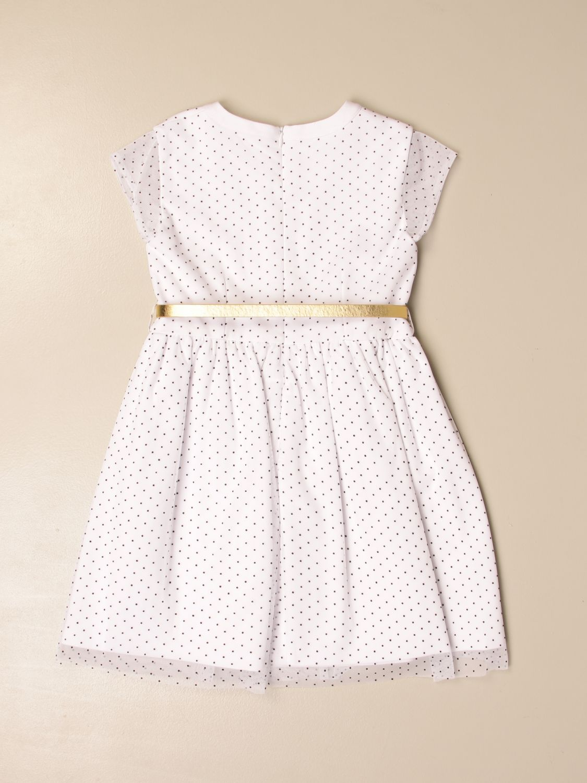 Dress Liu Jo: Dress kids Liu Jo white 1 2