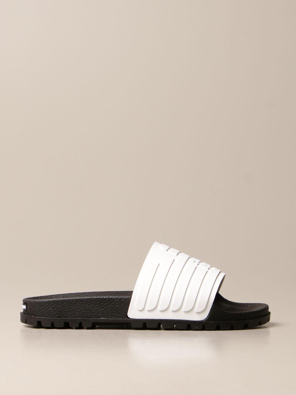 Sandales Emporio Armani: Chaussures homme Emporio Armani blanc 1