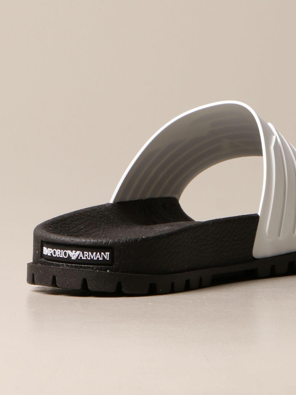 Sandales Emporio Armani: Chaussures homme Emporio Armani blanc 3