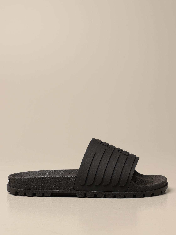 Sandalen Emporio Armani: Schuhe herren Emporio Armani schwarz 1