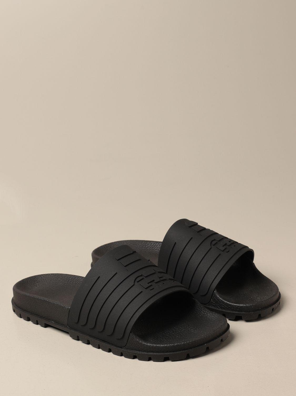 Sandalen Emporio Armani: Schuhe herren Emporio Armani schwarz 2