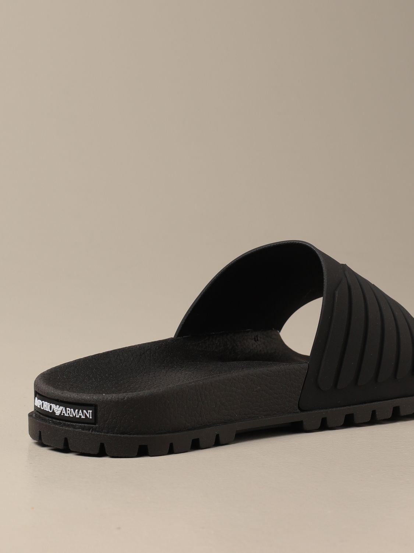Sandalen Emporio Armani: Schuhe herren Emporio Armani schwarz 3