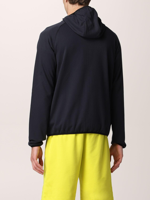 Sweatshirt K-Way: Sweatshirt homme K-way bleu 2