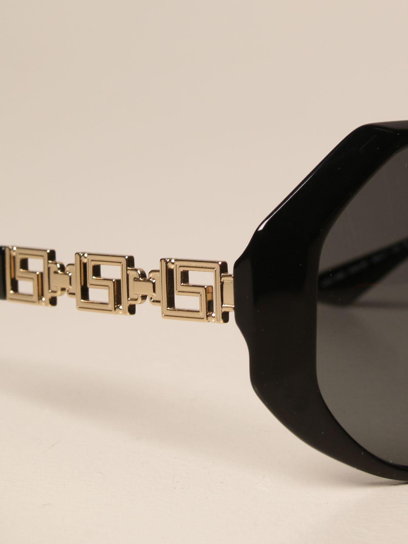Солнцезащитные очки Versace: Солнцезащитные очки Женское Versace черный 4