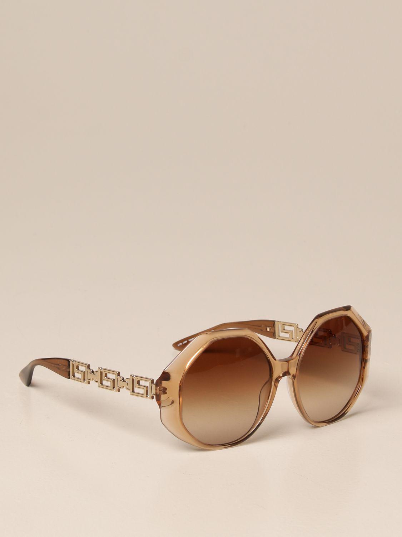 Солнцезащитные очки Versace: Солнцезащитные очки Женское Versace оранжевый 1